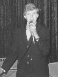 Peter appearing at the Circle Ballroom, Preston, Victoria 1965